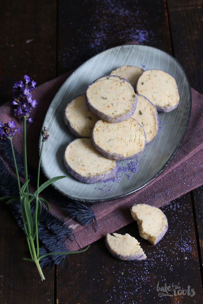 Lavender Shortbread Cookies | Bake to the roots