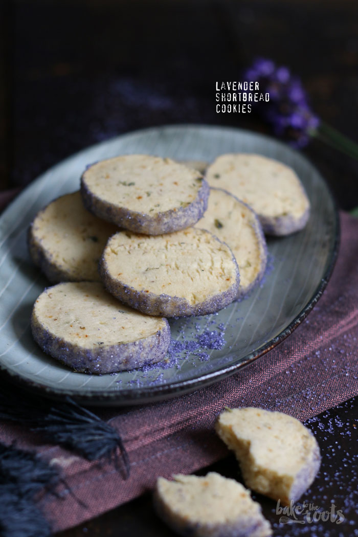 Lavender Shortbread Cookies   Bake to the roots