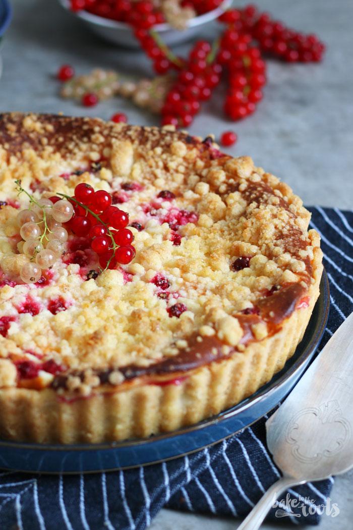 Johannisbeerkäsekuchen | Bake to the roots