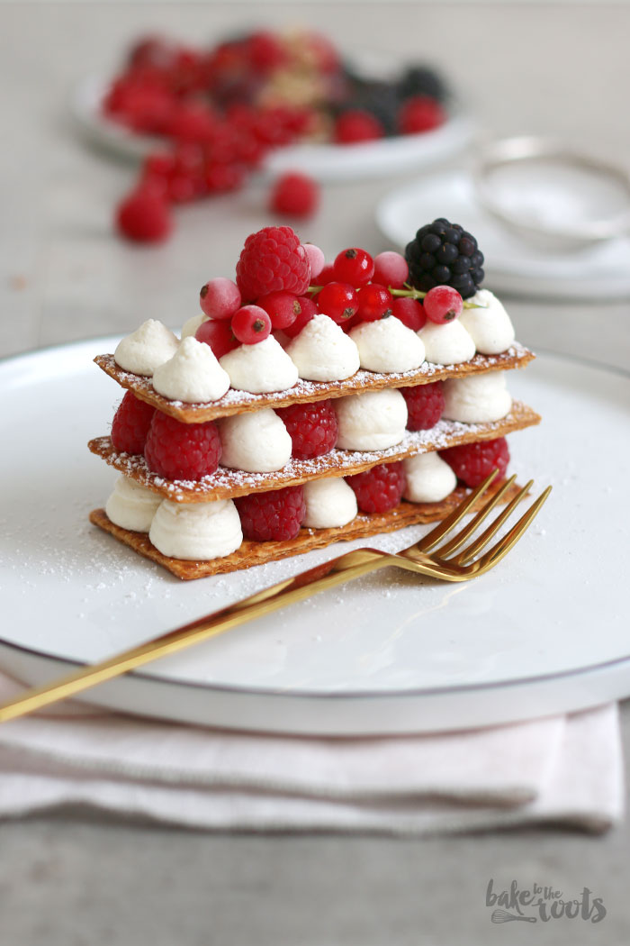 Mille Feuille Mit Beeren Bake To The Roots