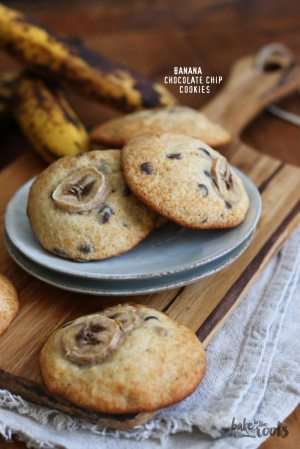 Bananen Chocolate Chip Cookies