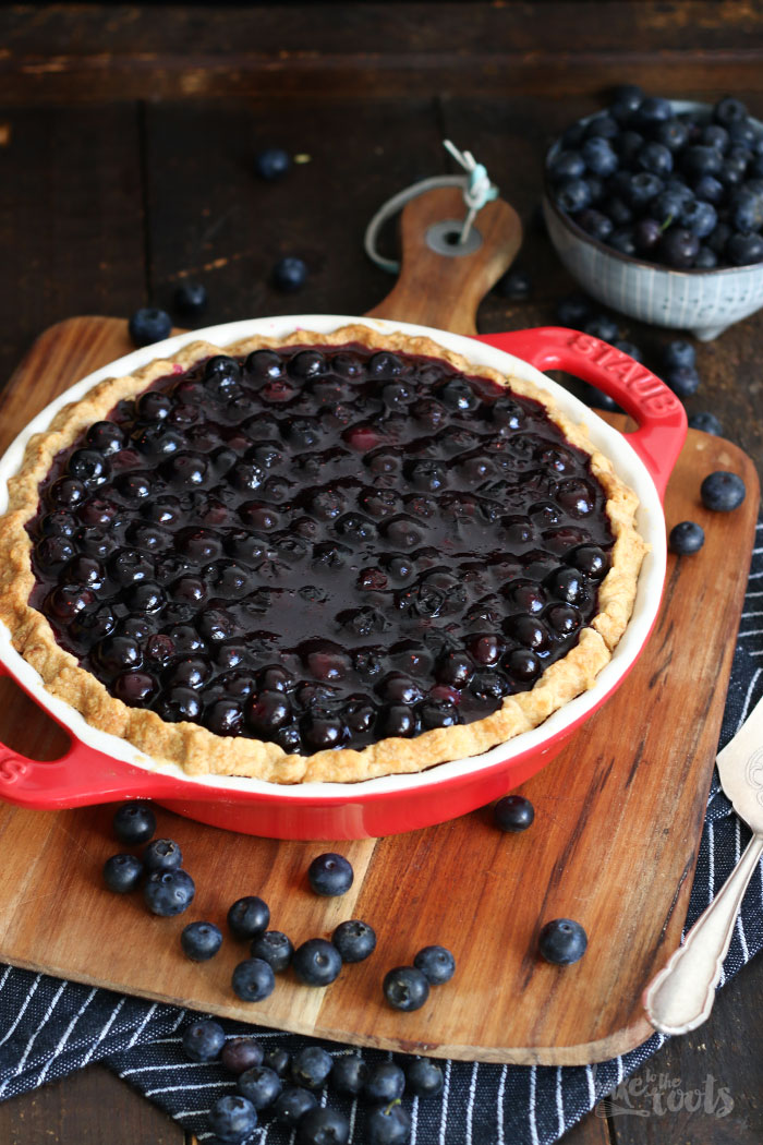 blueberry cheesecake pie bake to the roots. Black Bedroom Furniture Sets. Home Design Ideas