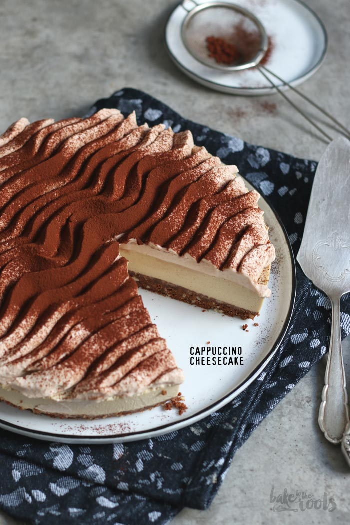 Cappuccino Cheesecake | Bake to the roots
