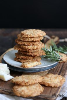 Parmesan Rosmarin Cookies   Bake to the roots