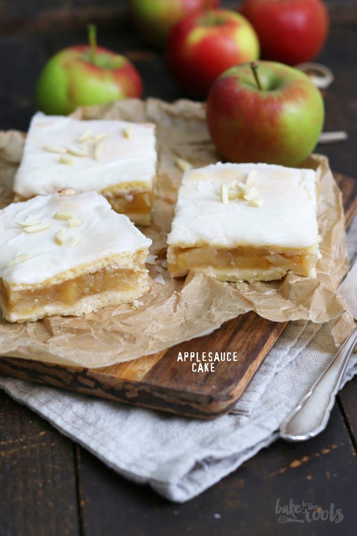 Apfelmus Kuchen   Bake to the roots