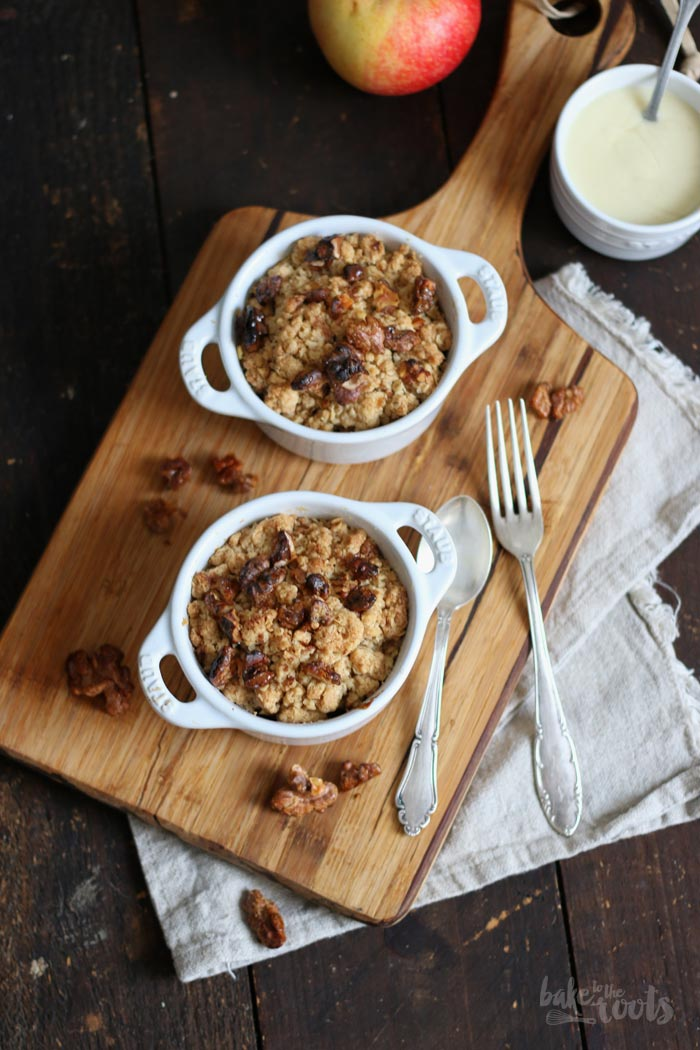 Apple Crumble | Bake to the roots