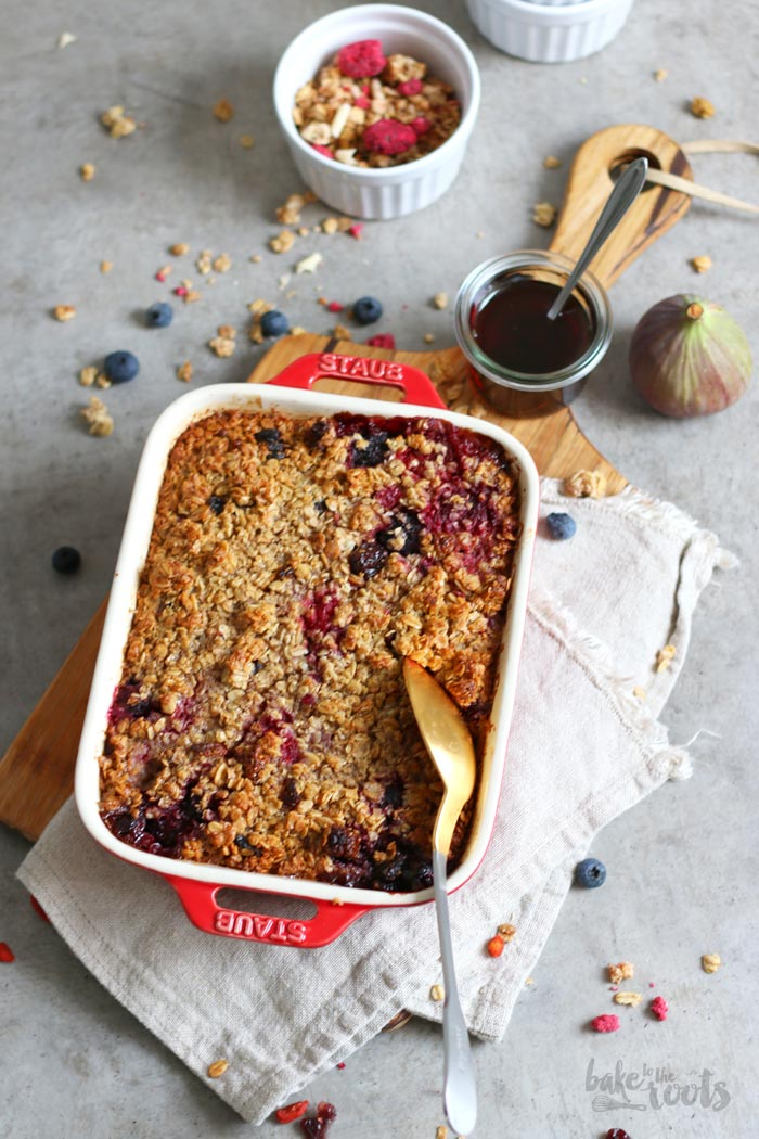 Baked Müsli mit Beeren | Bake to the roots