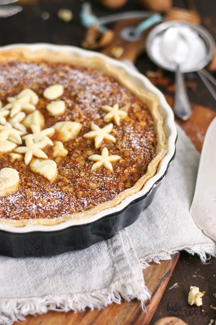 Salted Caramel Walnut Pie   Bake to the roots