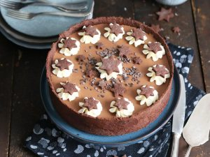 Cherry Chocolate Mousse Cake   Bake to the roots