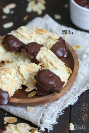 Almond Marzipan Crescents