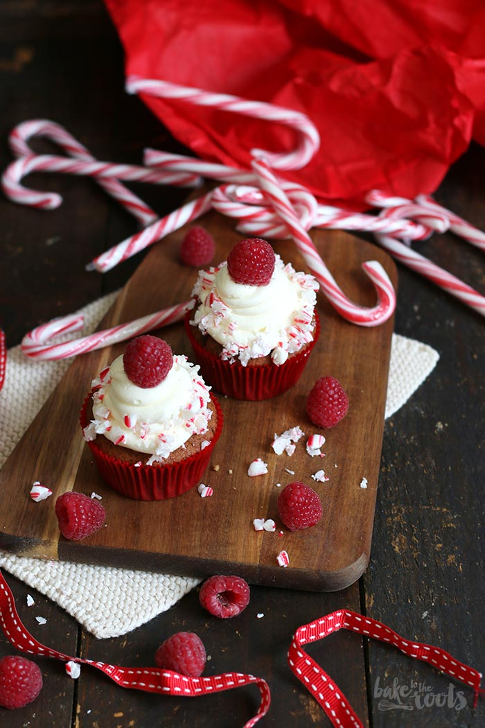 Candy Cane Cupcakes | Bake to the roots