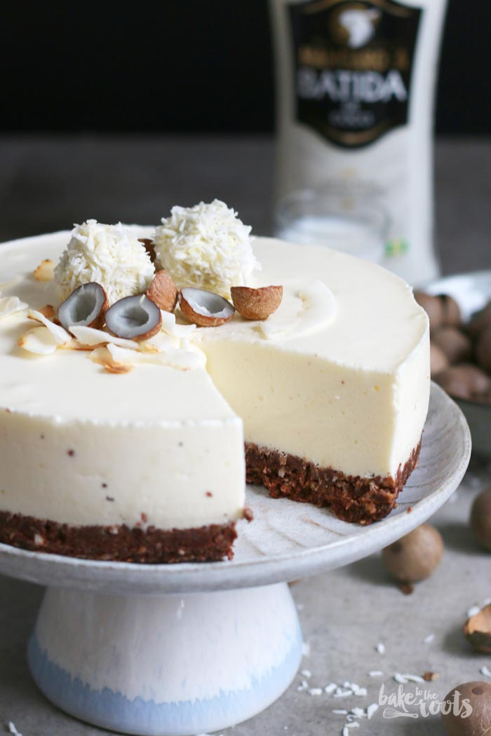 Coconut Cheesecake | Bake to the roots