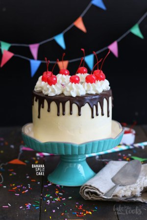 Birthday Cake (Banana Split Cake)