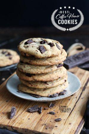 Coffee House Cookies – Chunky Chocolate Cookies