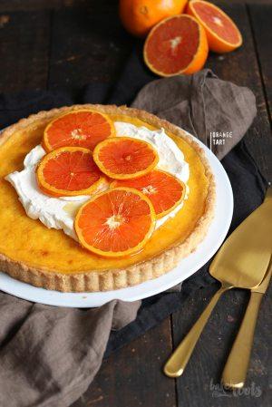 Orange Tart with Caramelized Oranges