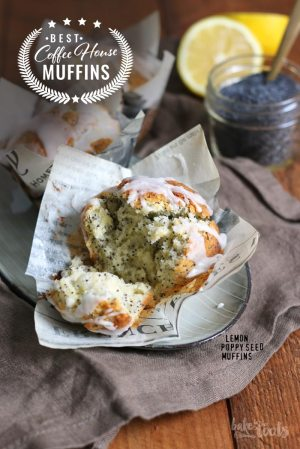 Coffee House Muffins – Lemon Poppy Seed Muffins