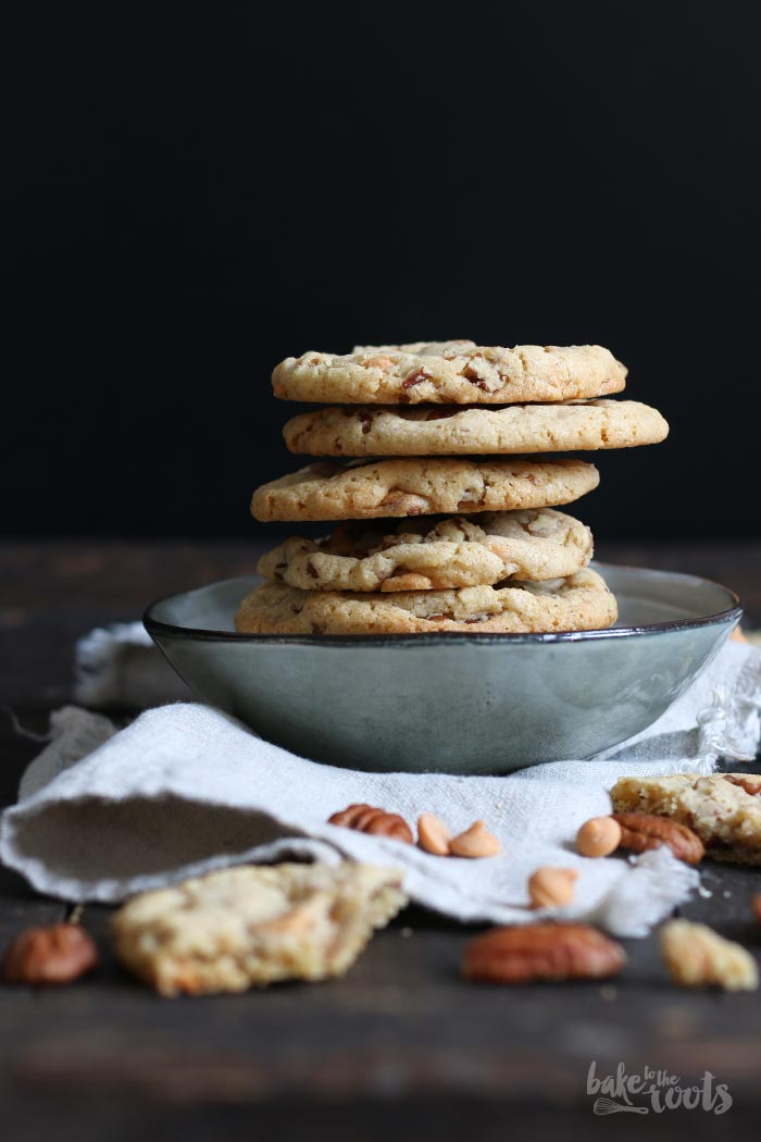 Pecan Butterscotch Cookies | Bake to the roots