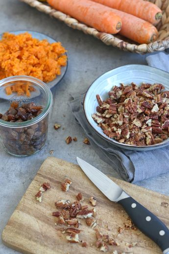 Carrot Cake Ice Cream | Bake to the roots