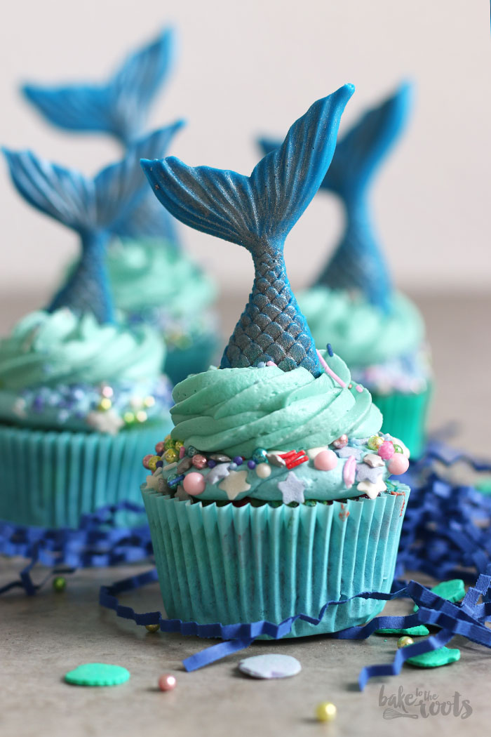 Mermaid Cupcakes | Bake to the roots