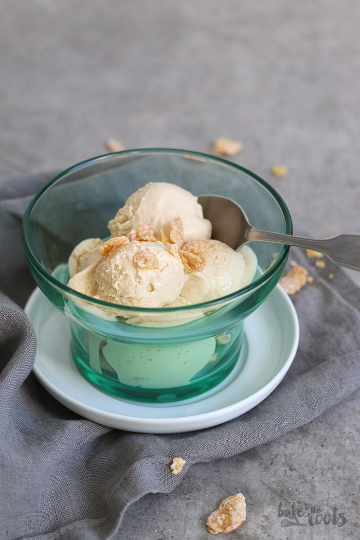 Cornflakes Ice Cream | Bake to the roots