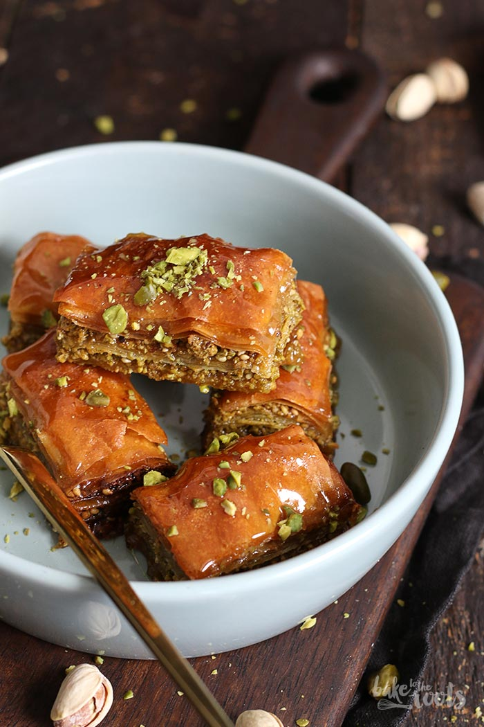 Baklava mit Pistazien | Bake to the roots