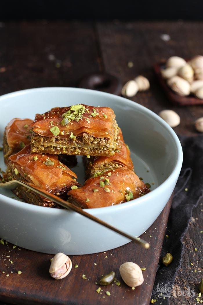 Baklava mit Pistazien | Bake to the roots