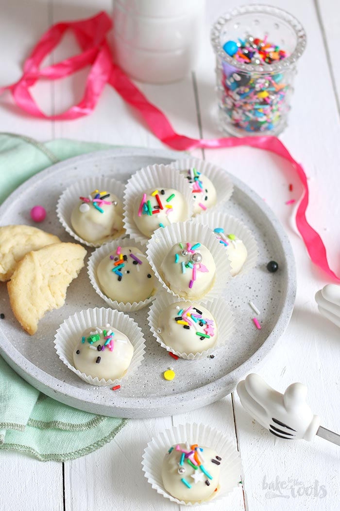 Sugar Cookie Truffles   Bake to the roots