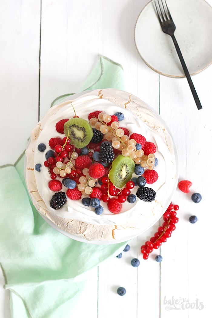 Summer Pavlova | Bake to the roots