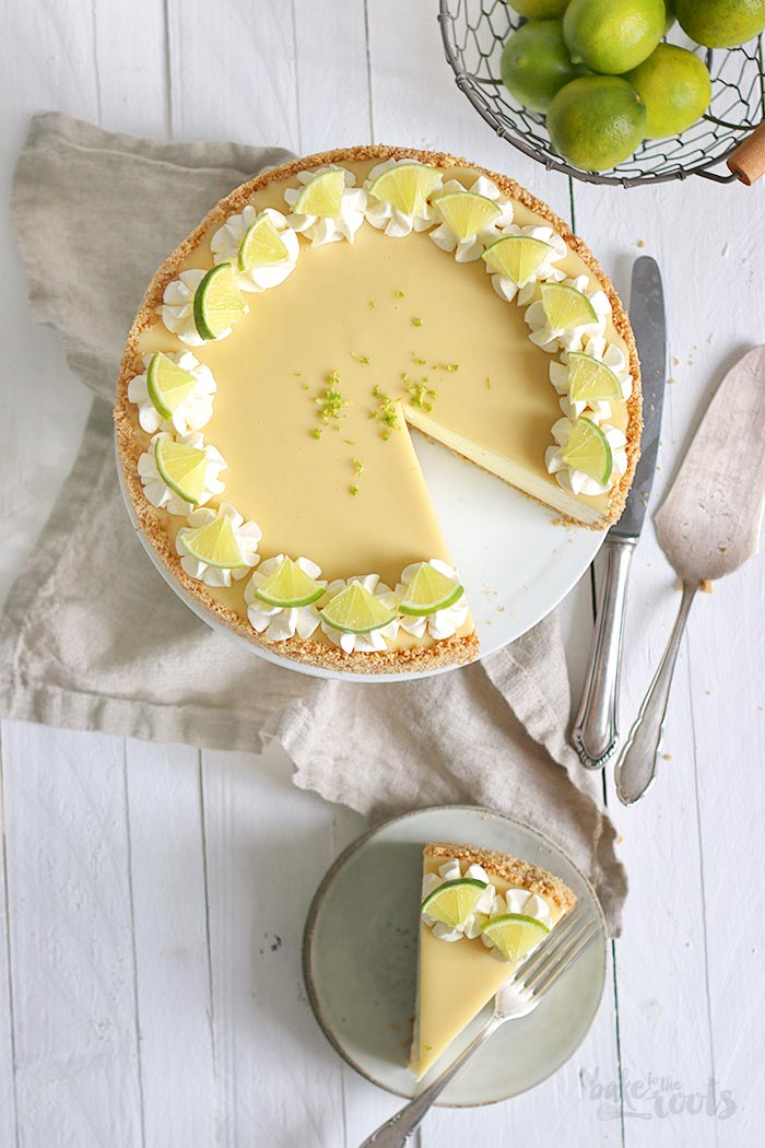 White Chocolate Lime Cheesecake | Bake to the roots