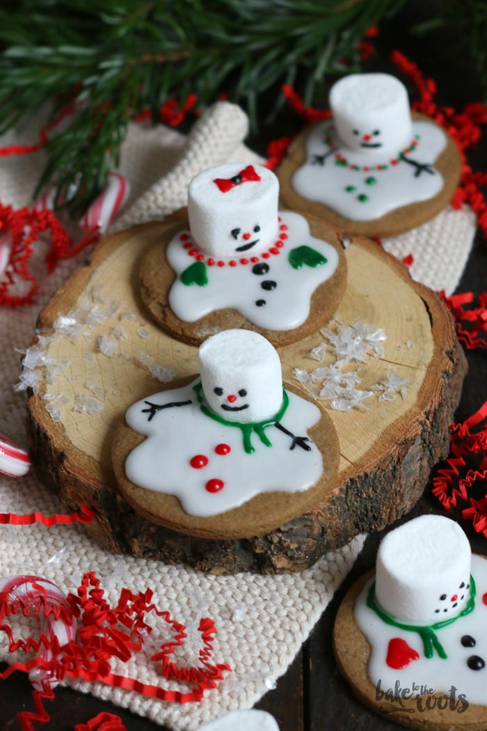 Snowman Cookies | Bake to the roots