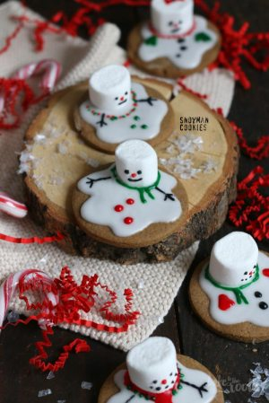 (Global Warming) Snowman Cookies