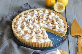 Tarte au Citron Meringuée | Bake to the roots