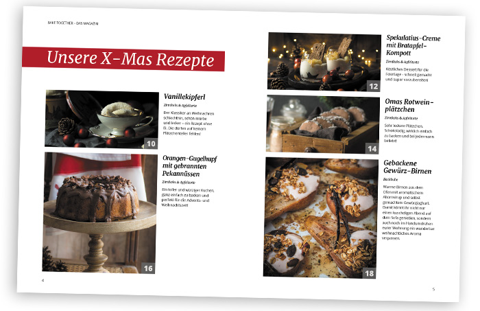 Bake Together X-mas Magazin
