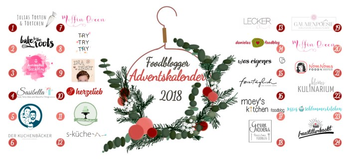 Foodblogger Adventskalnder
