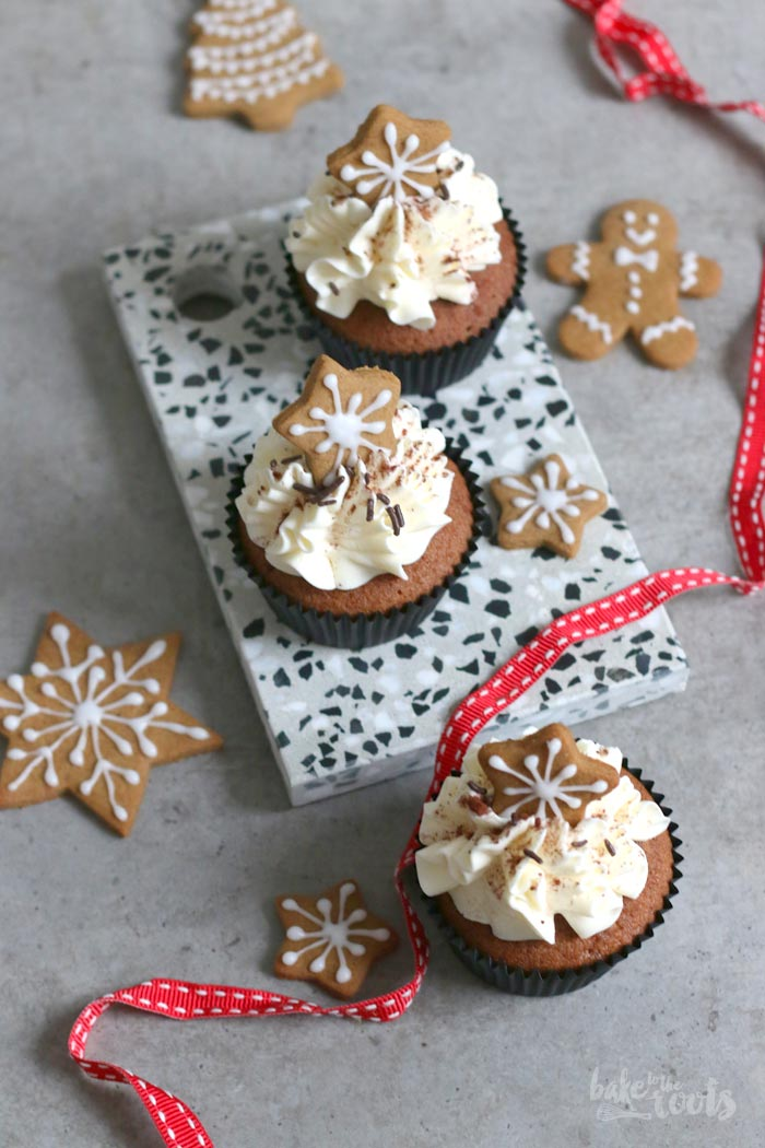 Gingerbread Cupcakes | Bake to the roots