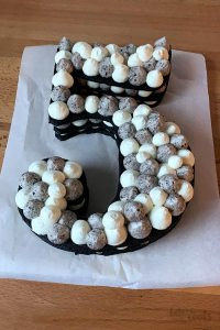 Birthday Number Cake | Bake to the roots