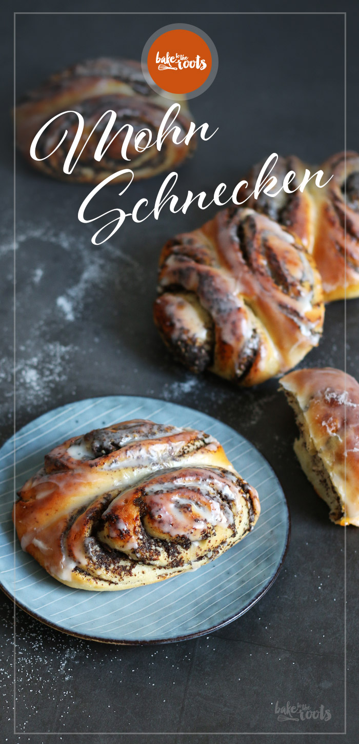Mohnschnecken | Bake to the roots