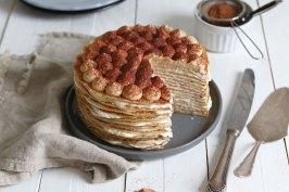 Tiramisu Crêpe Cake | Bake to the roots