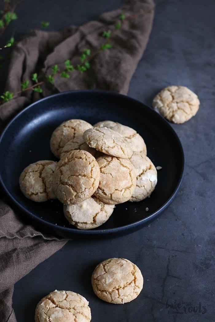Cinnamon Crinkle Cookies   Bake to the roots