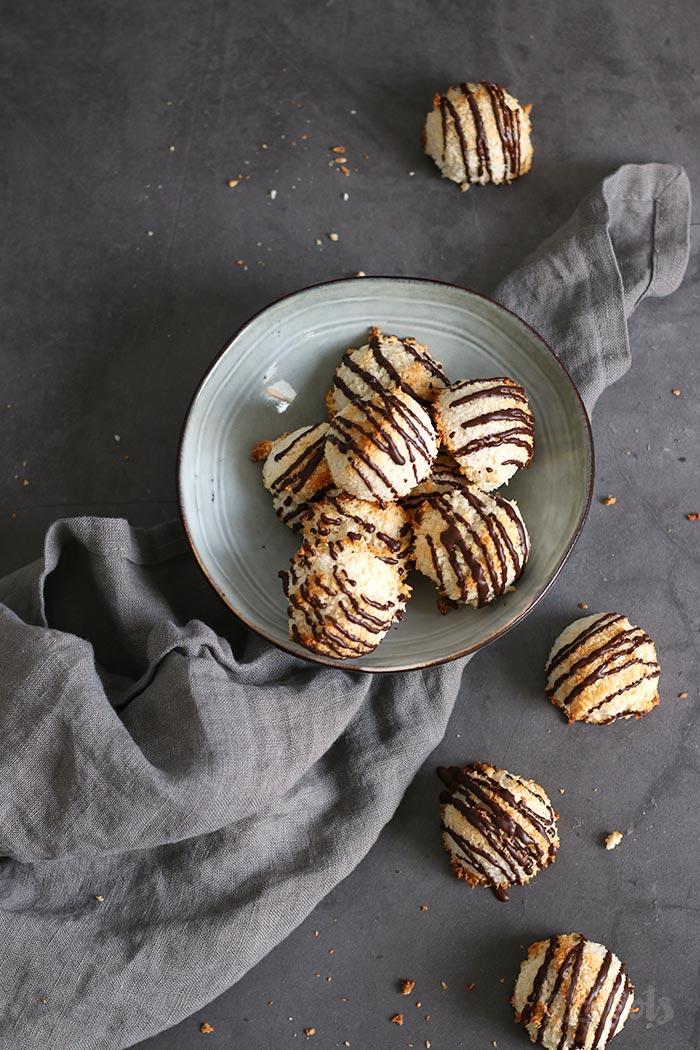 Kokosmakronen | Bake to the roots