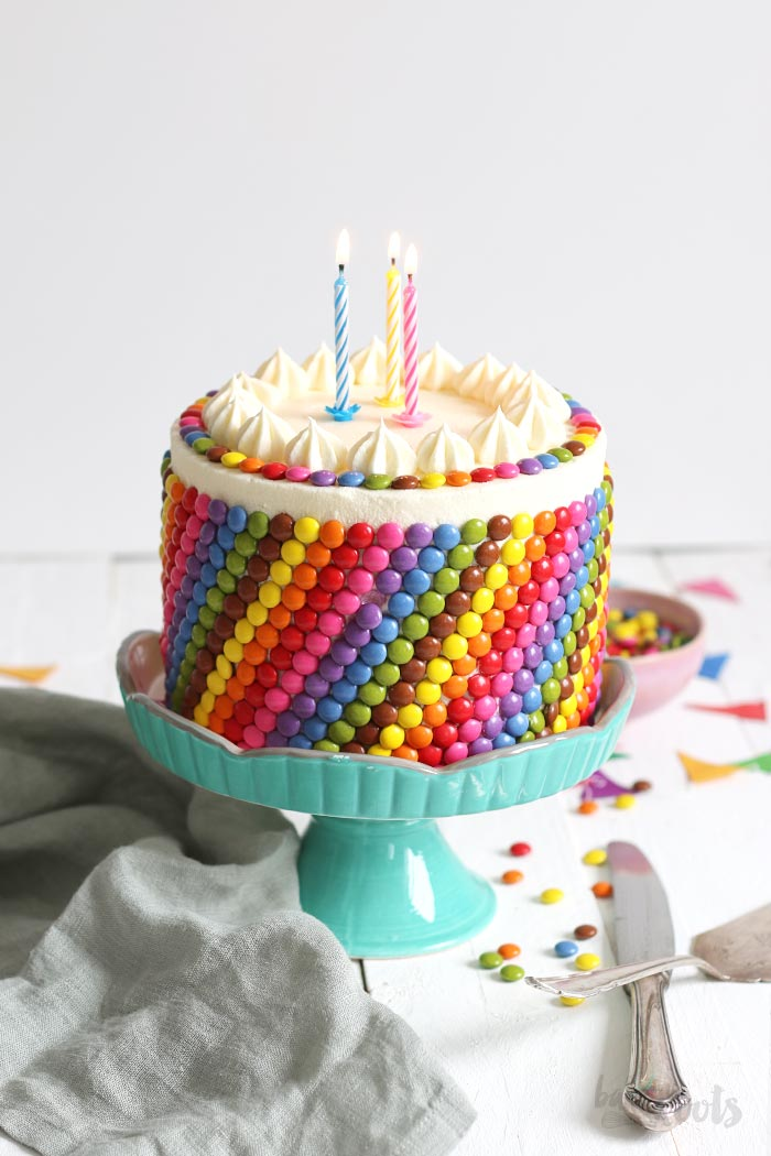 Colorful Birthday Cake | Bake to the roots