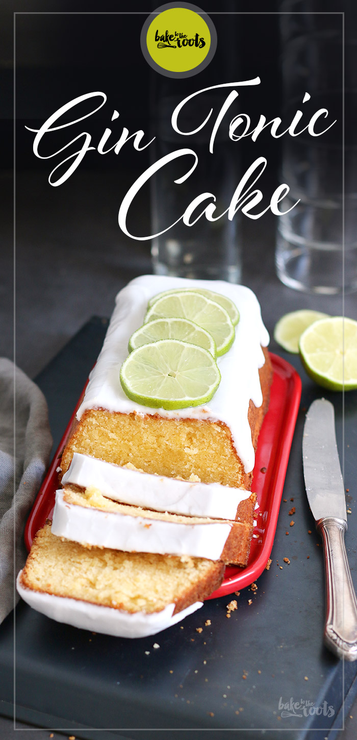 Gin Tonic Cake | Bake to the roots