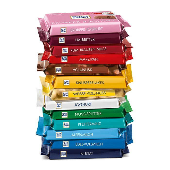 Bake Together Aktion | Ritter Sport Schokoladenpaket