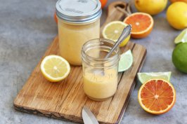 Homemade Lemon Curd | Bake to the roots