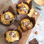 Banana Chocolate Muffins | Bake to the roots