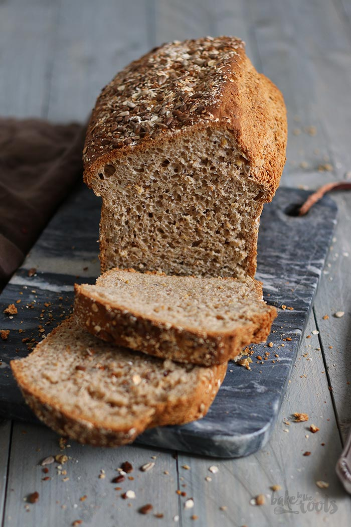 Schnelles Körnerbrot | Bake to the roots