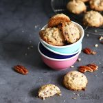 Sugar Free Pecan Cookies | Bake to the roots