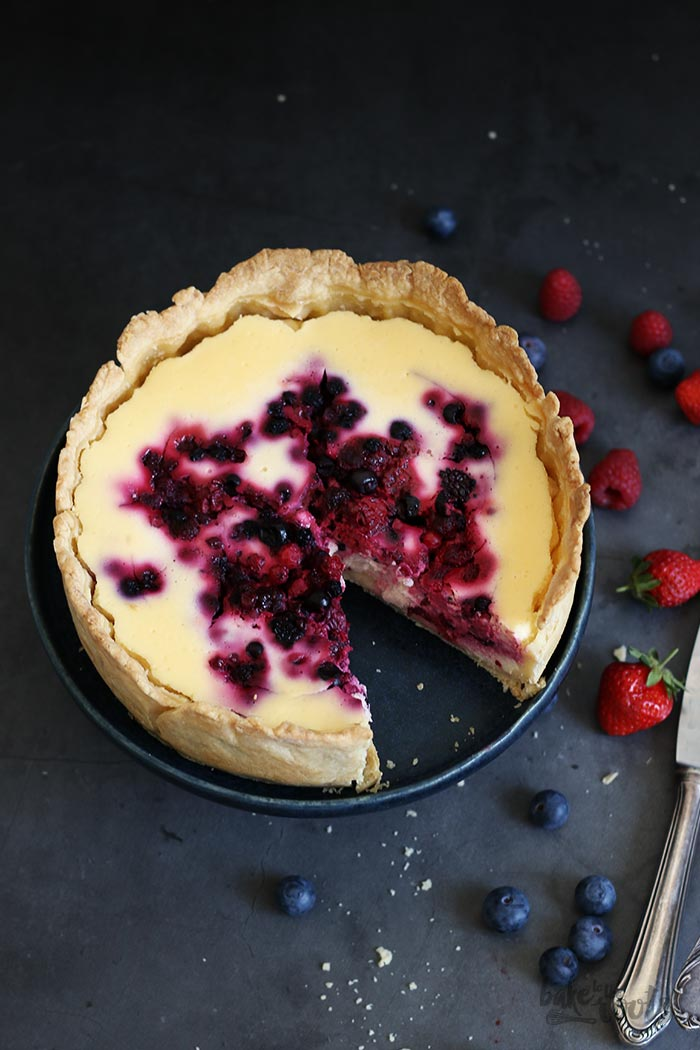 Berry Cheesecake   Bake to the roots