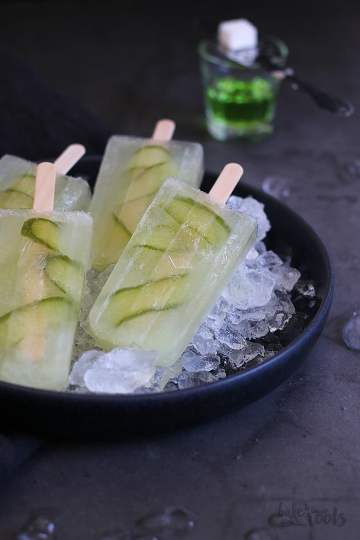 Green Beast Popsicles | Bake to the roots