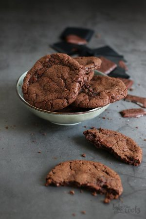 After Eight Double Chocolate Cookies